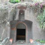 kerk in de rotsen