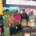 Our team at 'Ene'io Booth during the Vava'u Agricultural Show