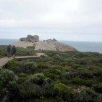 Gehweg zu den Remarkable Rocks