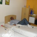 My Elder Brother Relaxing after Drive from Baroda to Nasik