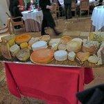 Fromages (plateau N°1 ... sur trois...)