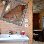 Chambre Coccinelle & Caramel / Salle de Bain