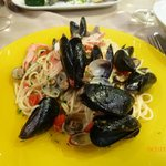 Practically all the mussels were shells with no flesh