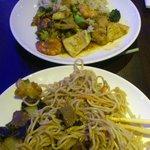 plats préparés au wok
