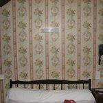 Pas d'éclairages individuels en tête de lit et lumière faible