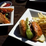 Leroy's Burger and Poke Tacos