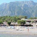 hotel vu de la plage