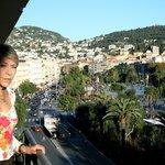 Da uno dei balconi la to mare