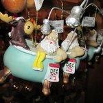 Santa and Rudolf in the bath on the 25th
