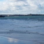 View across Watergate Bay from room 126