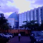 View of the main building at Boma Hotel