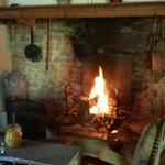 Petit déjeuner au coin du feu