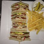 Delicious and well presented Traditional Club Sandwich. Craved for it and through enjoyed it.