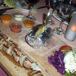 The lamb plate