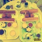 Petit déjeuner (pour 4 personnes)