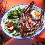 River Shrimp platter