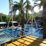 View above Pool