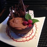Chocolate Raspberry Mousse by Chef Heather