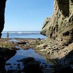 Cave on Pelada Beach