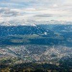 Инсбрук с высоты 2256 м