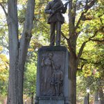 The story goes,Silent Sam, only fires his gun in the presence of virgins