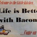 Love the bacon!
