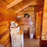 Kühlschrank und Waschbecken-Ecke