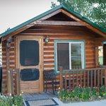 Hütte von außen