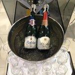 Breakfast champagne