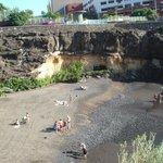 piscine sable noire