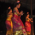 Show de dança balinesa