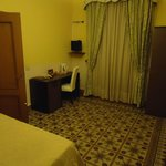 Single room with large twin bed