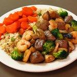 Steak & Shrimp Combination