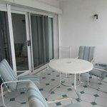 Terrace in Marina apartment