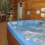 Hot Tub on every Cabin Deck