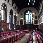 The great hall where we dined