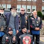 Uncle Si with Patriot riders