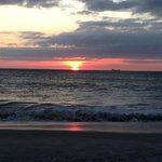 Day 3 Sunset on beach
