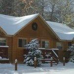 Cabin Exterior Winter
