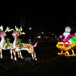 Victoria Park Festival of Lights display