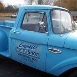 Emmett's truck at Mayberry Motor Inn