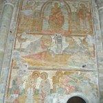 1000 year old Mural Basilique Saint-Sernin Toulouse