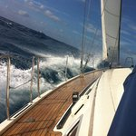 Sailing from fuerteventura to Lanzarote