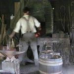 Blacksmith Shop at Meadowcroft Historic Village - August 8, 2013