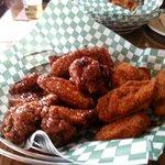 Delicious wings.