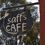 Saff's street sign