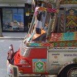 The famous tkc bus