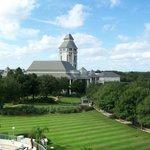 Looking toward World Golf Hall of Fame