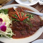 Whole fish in three-flavored sauce