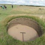 Sand pit.